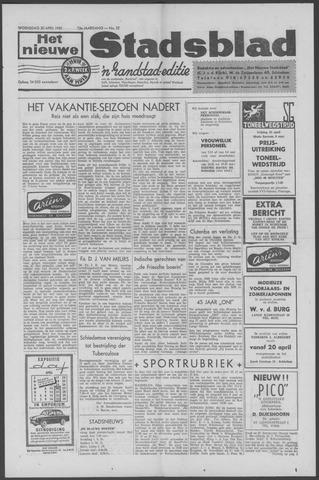 Het Nieuwe Stadsblad 1960-04-20
