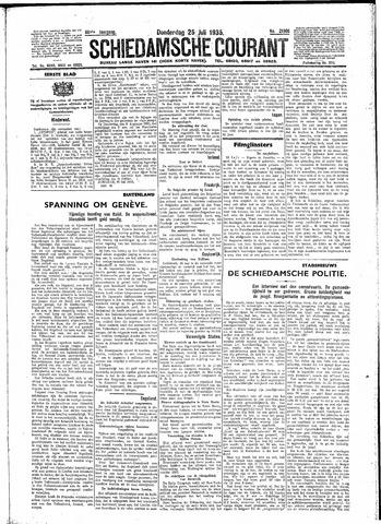 Schiedamsche Courant 1935-07-25