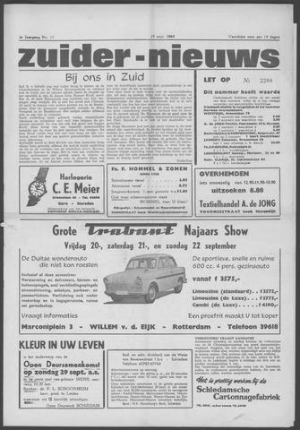 Zuider Nieuws 1963-09-19
