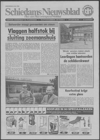 Schiedams Nieuwsblad 1983-07-06