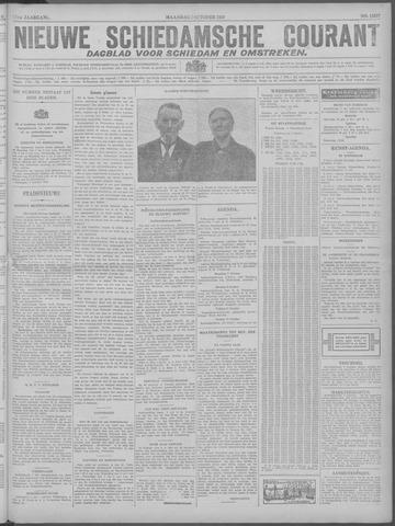 Nieuwe Schiedamsche Courant 1929-10-07