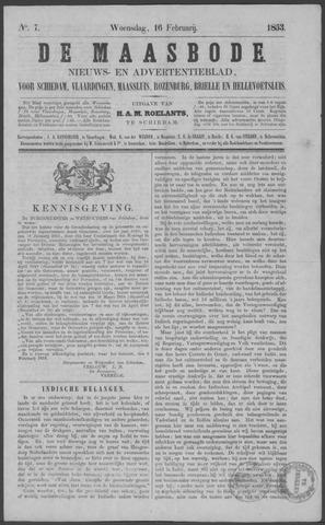 De Maasbode 1853-02-16
