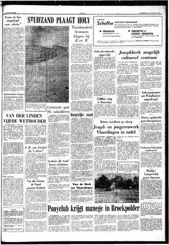 Trouw / De Rotterdammer 1970-08-20