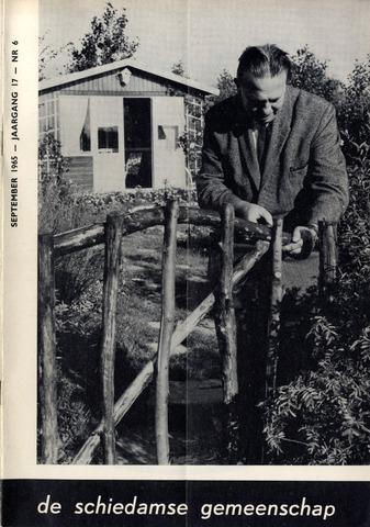 Schiedamse Gemeenschap (tijdschrift) 1965-09-01