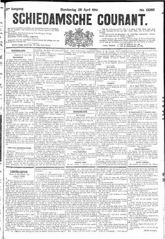 Schiedamsche Courant 1910-04-28