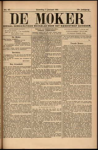 De Moker 1911