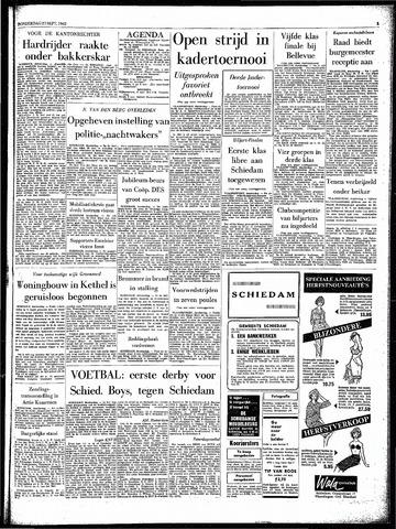 Rotterdamsch Parool / De Schiedammer 1962-09-27