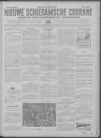Nieuwe Schiedamsche Courant 1929-02-02