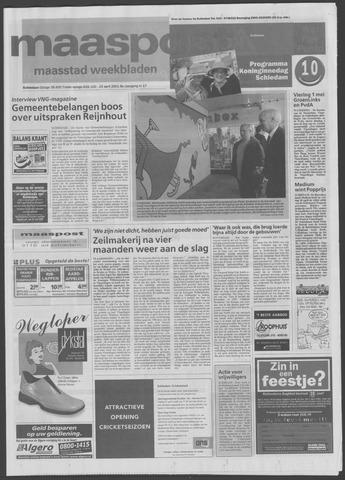 Maaspost / Maasstad / Maasstad Pers 2001-04-25