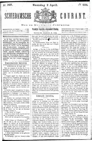 Schiedamsche Courant 1877-04-02