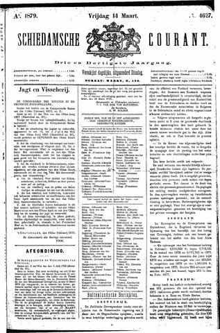 Schiedamsche Courant 1879-03-14