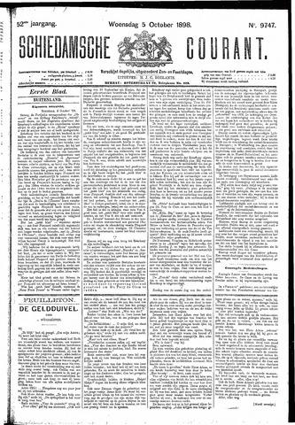 Schiedamsche Courant 1898-10-05