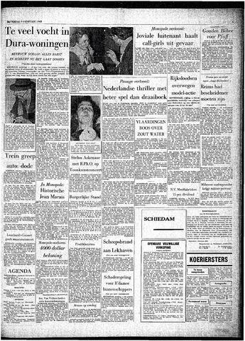 Rotterdamsch Parool / De Schiedammer 1963-02-09