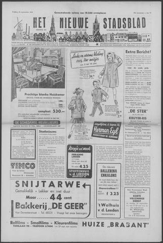 Het Nieuwe Stadsblad 1956-09-28