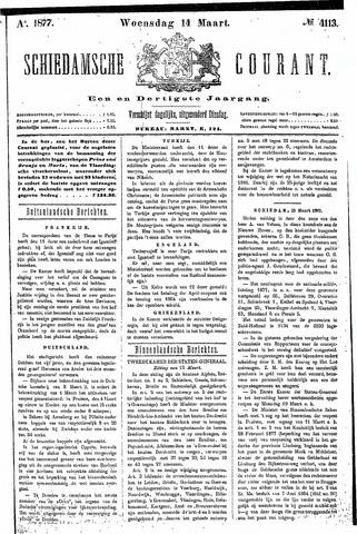 Schiedamsche Courant 1877-03-14