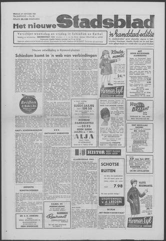 Het Nieuwe Stadsblad 1961-10-27