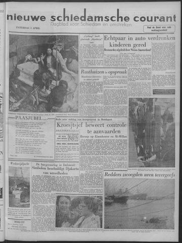 Nieuwe Schiedamsche Courant 1958-04-05
