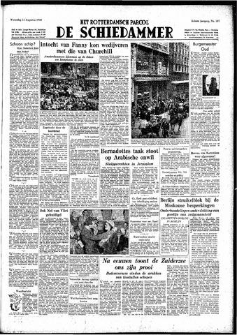 Rotterdamsch Parool / De Schiedammer 1948-08-11
