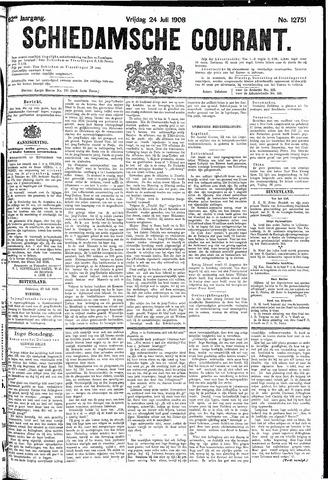 Schiedamsche Courant 1908-07-24