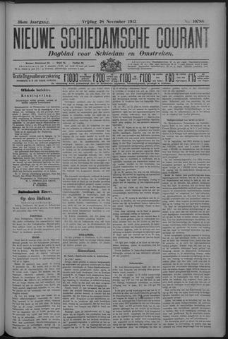 Nieuwe Schiedamsche Courant 1913-11-29
