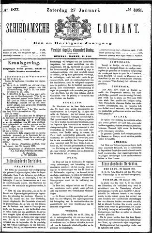 Schiedamsche Courant 1877-01-27