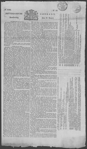Rotterdamse Courant 1836-03-31