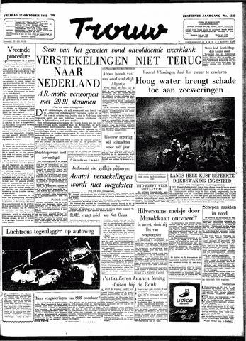 Trouw / De Rotterdammer 1958-10-17