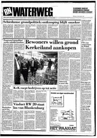 Rotterdamsch Nieuwsblad / Schiedamsche Courant / Rotterdams Dagblad / Waterweg / Algemeen Dagblad 1987-11-27