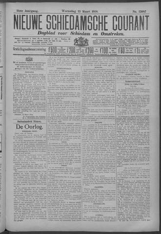 Nieuwe Schiedamsche Courant 1918-03-13