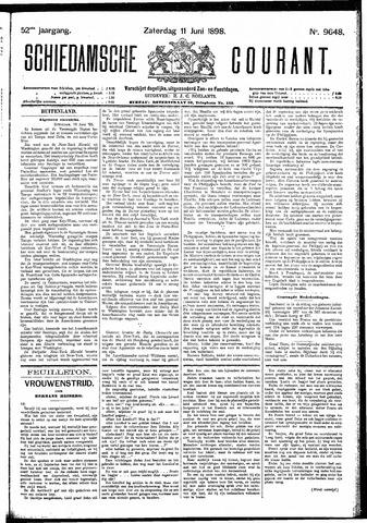 Schiedamsche Courant 1898-06-11