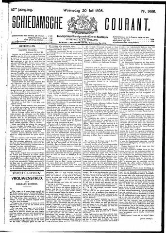Schiedamsche Courant 1898-07-20