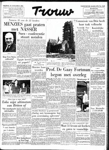 Trouw / De Rotterdammer 1956-08-24