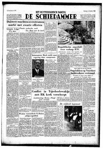 Rotterdamsch Parool / De Schiedammer 1949-10-11