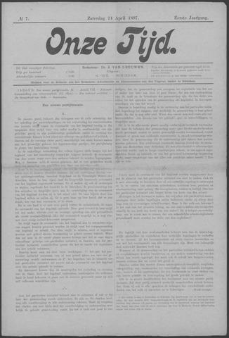 Onze Tijd 1897-04-24