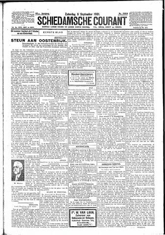 Schiedamsche Courant 1931-09-05