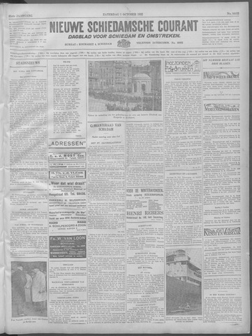 Nieuwe Schiedamsche Courant 1932-10-01