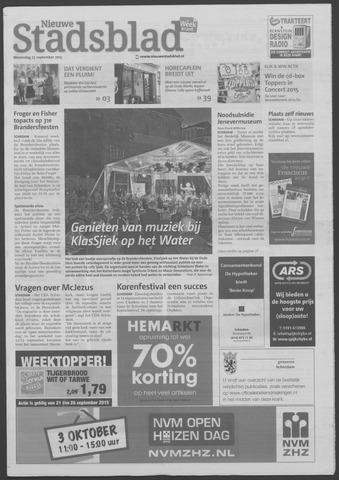 Het Nieuwe Stadsblad 2015-09-23