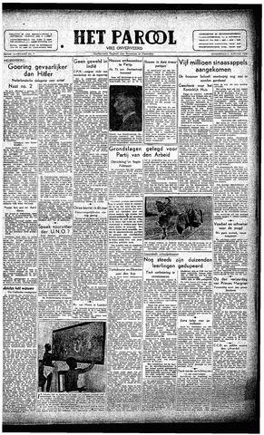 Rotterdamsch Parool / De Schiedammer 1946-01-09