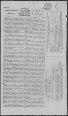 Rotterdamse Courant 1841-11-04