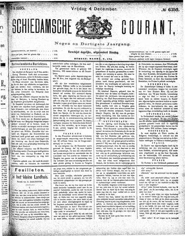 Schiedamsche Courant 1885-12-04