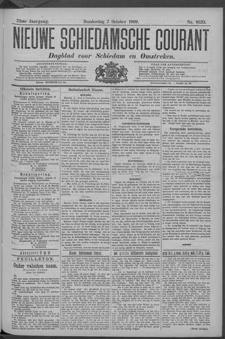 Nieuwe Schiedamsche Courant 1909-10-07
