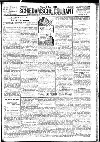 Schiedamsche Courant 1927-03-18