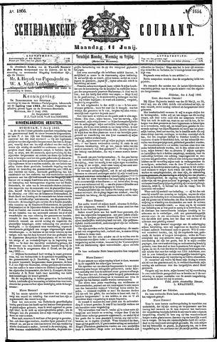 Schiedamsche Courant 1866-06-11