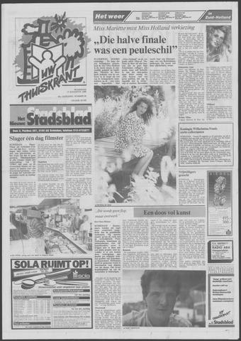Het Nieuwe Stadsblad 1988-08-17