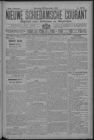 Nieuwe Schiedamsche Courant 1913-09-20