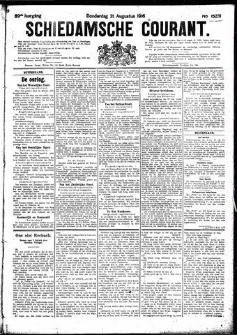 Schiedamsche Courant 1916-08-31