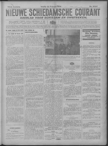 Nieuwe Schiedamsche Courant 1929-02-22