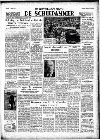 Rotterdamsch Parool / De Schiedammer 1948-06-08