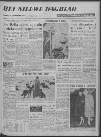 Nieuwe Schiedamsche Courant 1961-11-14