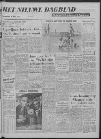 Nieuwe Schiedamsche Courant 1962-07-09